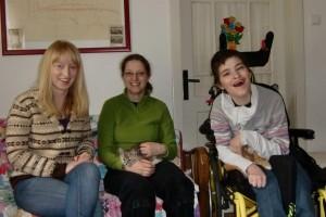 Frauke, Tabea und Wiebke
